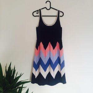 new // boden • pastel chevron dress